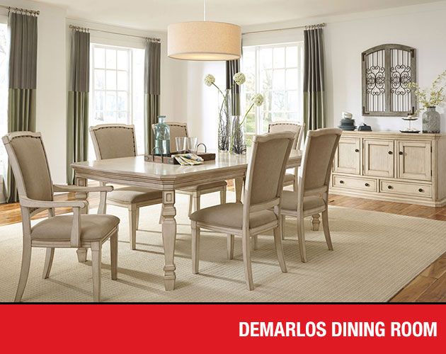 Merveilleux Demarlos Dining Set